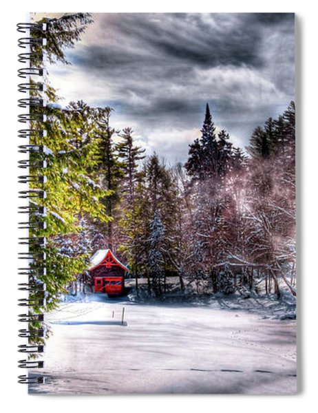 Winter Sunlight Spiral Notebook