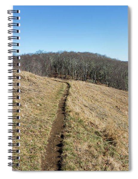 Winter Trail - December 7, 2016 Spiral Notebook