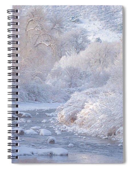Winter Wonderland - Colorado Spiral Notebook