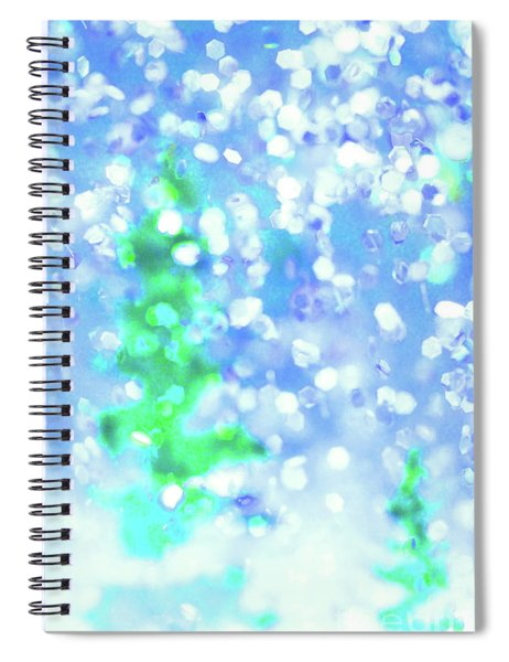 Winter Wonderland Spiral Notebook