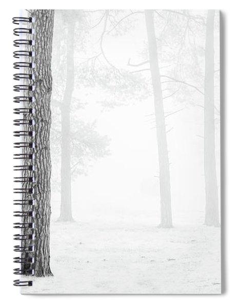 Winter Woodland Spiral Notebook