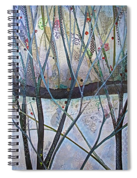Winterlude Spiral Notebook