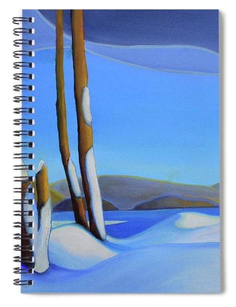 Winter's Calm Spiral Notebook