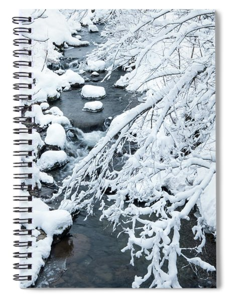 Winters Creek- Spiral Notebook