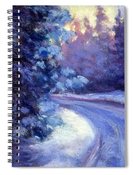 Winter's Exodus Spiral Notebook