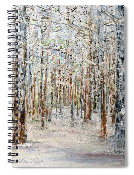 Wintry Woods Spiral Notebook