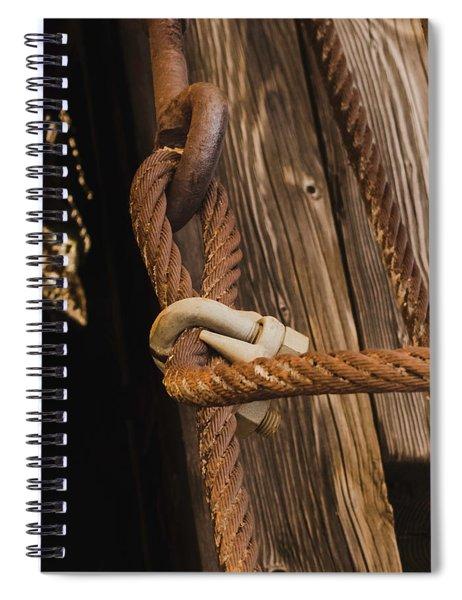 Wire Rope Spiral Notebook