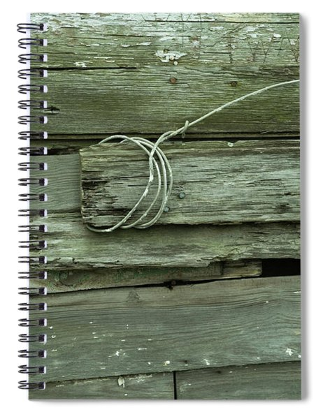 Wired House Siding Spiral Notebook
