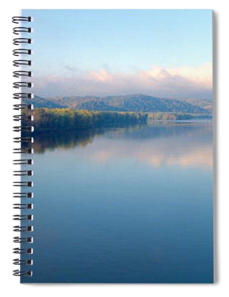 Wisconsin River And Prairie De Chen Spiral Notebook