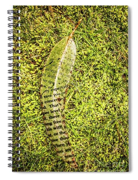Wisdom In Nature Spiral Notebook