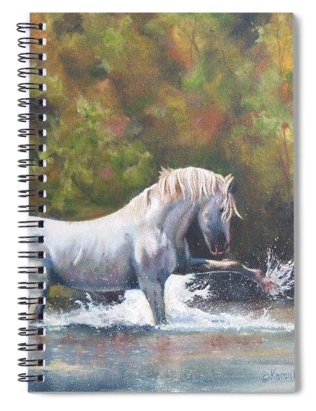 Wisdom Of The Wild Spiral Notebook