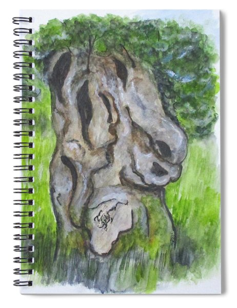 Wisdom Olive Tree Spiral Notebook