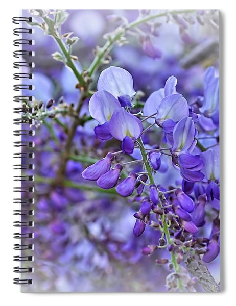 Wisteria Beauty 2 By Kaye Menner Spiral Notebook