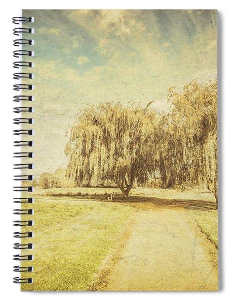 Wisteria Lane Spiral Notebook