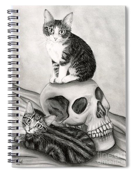 Witch's Kittens Spiral Notebook