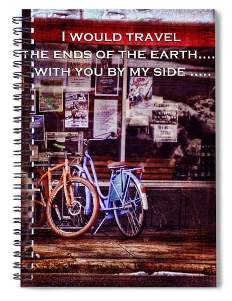 With You By My Side Spiral Notebook