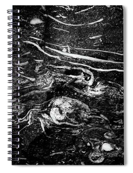 Within A Stone Spiral Notebook