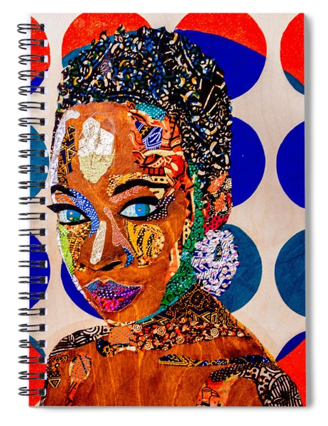 Without Question - Danai Gurira I Spiral Notebook