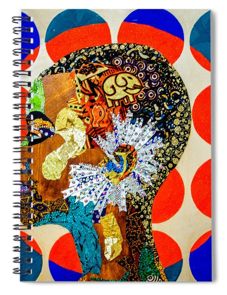 Without Question - Danai Gurira II Spiral Notebook