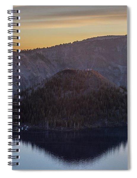 Wizard Island Morning Spiral Notebook