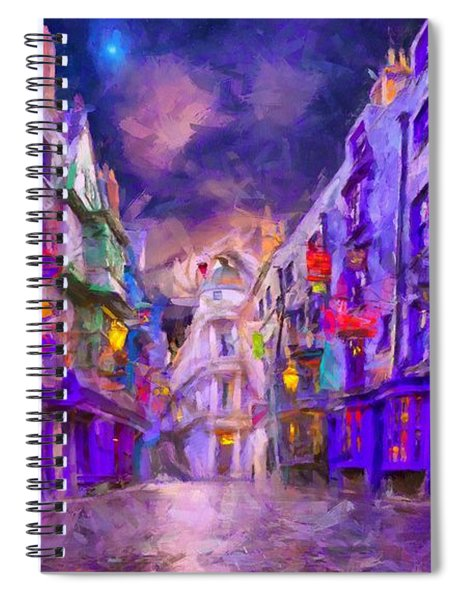 Wizard Mall Spiral Notebook