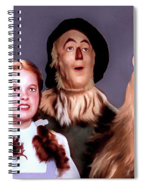 Wizard Of Oz Spiral Notebook