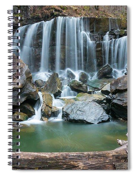Wolf Creek Falls Spiral Notebook