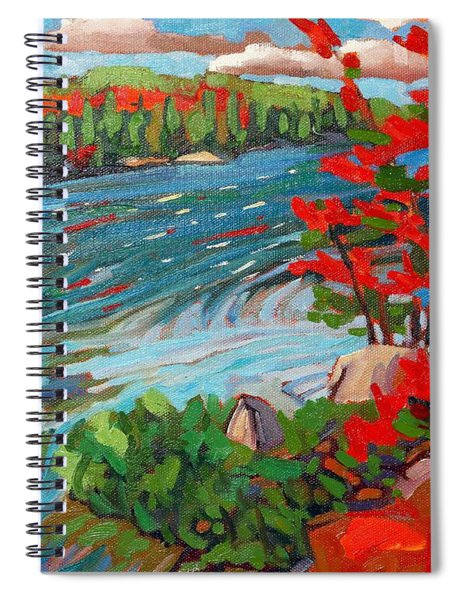Wolf Creek Spiral Notebook