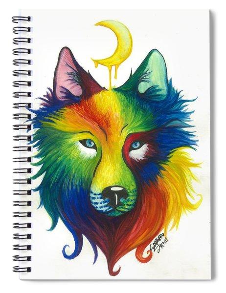 Wolf Spirit Spiral Notebook