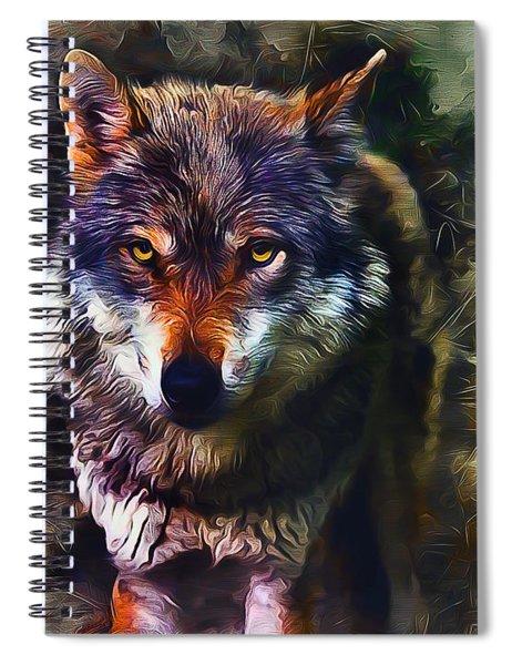 Wolf Timber Spiral Notebook