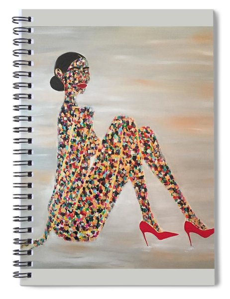 Woman Of Color Spiral Notebook