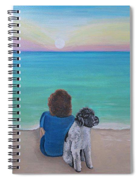 Woman's Best Friend Spiral Notebook