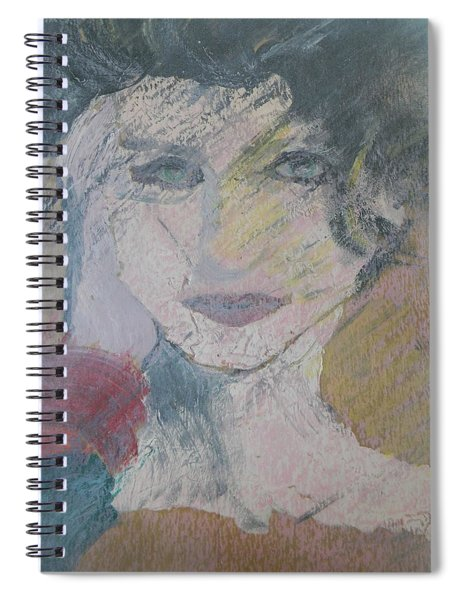 Woman's Portrait - Untitled Spiral Notebook