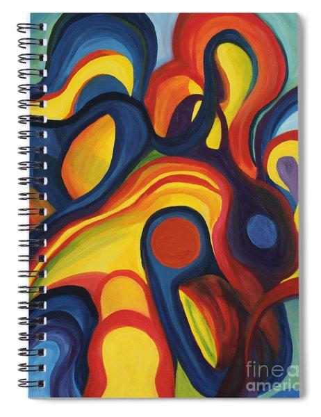 Women As Caregivers Spiral Notebook