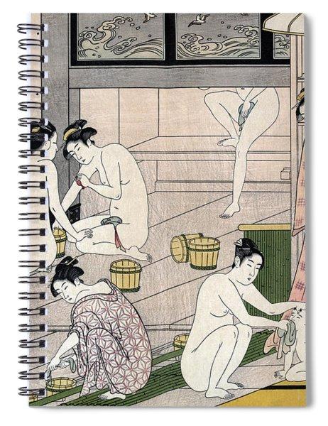 Women's Bathhouse Spiral Notebook