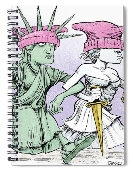 Women's March On Washington Spiral Notebook