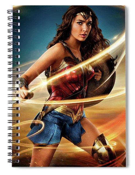 Wonder Woman 2017 Spiral Notebook