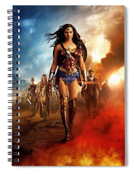 Wonder Woman Spiral Notebook