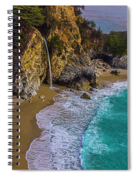 Wonderful Mcway Falls Spiral Notebook