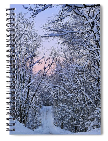 Wonderland Road Spiral Notebook