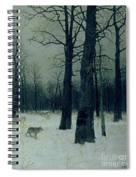 Wood In Winter Spiral Notebook