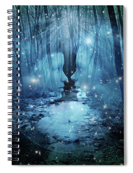 Wood  Spiral Notebook