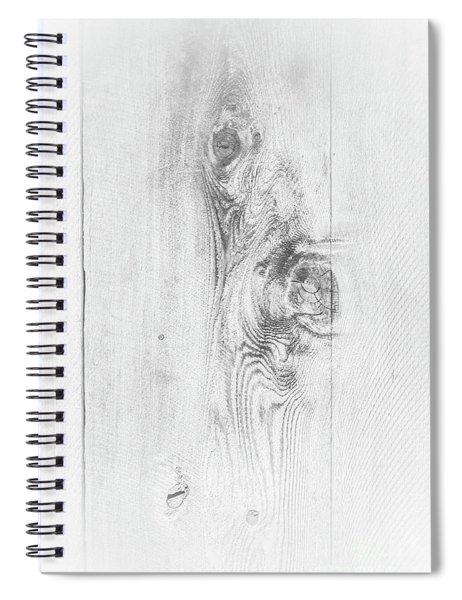 Wood Texture Spiral Notebook
