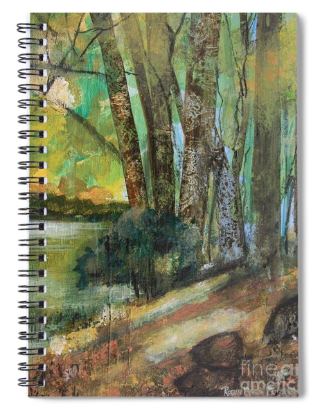 Woods In The Afternoon Spiral Notebook