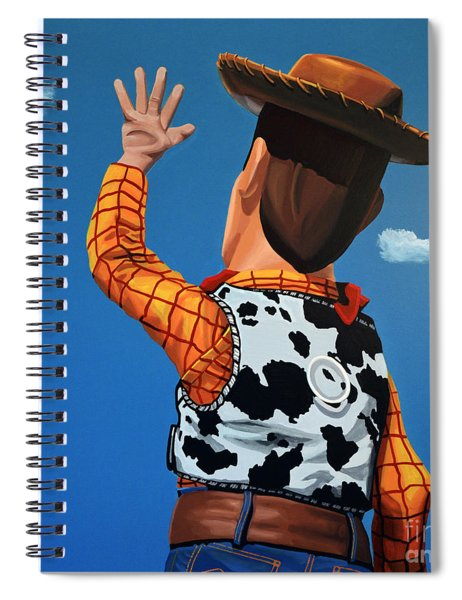 Woody Of Toy Story Spiral Notebook