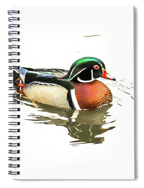 Woody Spiral Notebook