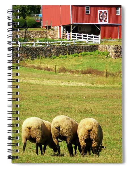 Wooly Bully Spiral Notebook