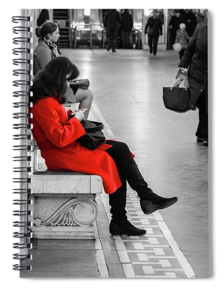 Working Girl Spiral Notebook