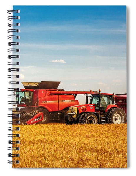 Working Side-by-side Spiral Notebook