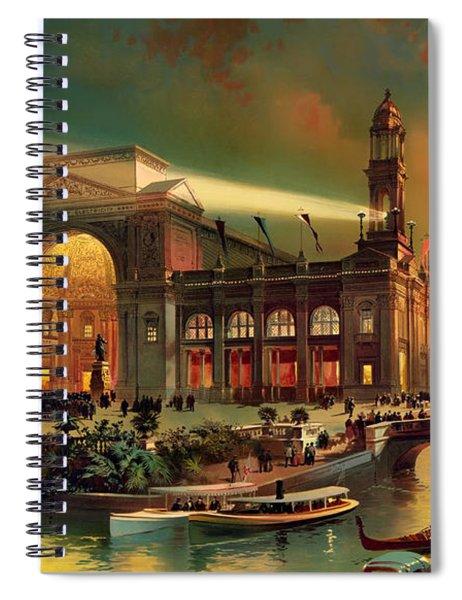World Columbian Exposition - Chicago Illinois 1892 Spiral Notebook